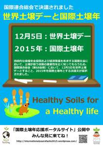 国際土壌年がやってくる! – 国際土壌年2015応援ポータル